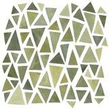 Celadon Geometry I Art Print
