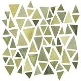 Celadon Geometry II Art Print