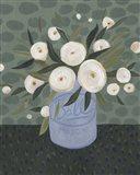 Mason Jar Bouquet III Art Print