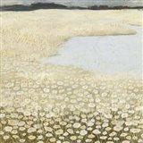 Flaxen Field I Art Print