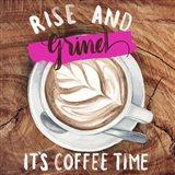 Rise & Grind II Art Print