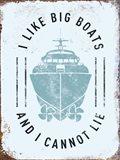 Punny Nautical II Art Print