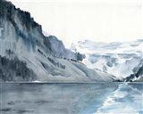Winter Fjords I Art Print