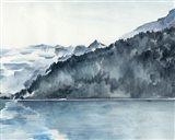 Winter Fjords II Art Print
