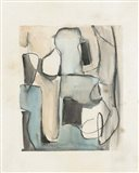 Subdued Abstract I Art Print