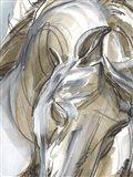Horse Abstraction I Art Print