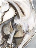 Horse Abstraction II Art Print