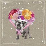 Fancypants Wacky Dogs IV Art Print