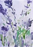 Violet Garden Moment I Art Print