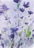 Violet Garden Moment II Art Print