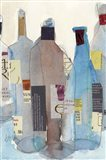 The Wine Bottles I Art Print