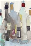 The Wine Bottles III Art Print