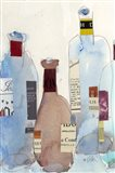 The Wine Bottles IV Art Print