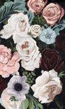 Floral Nocturne I Art Print