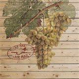 Grape Crate II Art Print