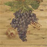 Grape Crate III Art Print