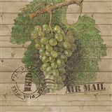Grape Crate IV Art Print