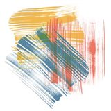 Color Swipe II Art Print