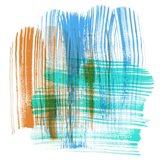 Color Swipe III Art Print