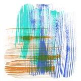 Color Swipe IV Art Print