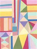 Confetti Structure II Art Print
