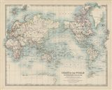 Chart of the World Art Print