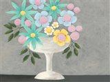 Nouveau Flowers II Art Print