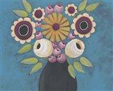 Flowers Galore I Art Print