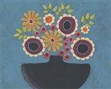 Flowers Galore III Art Print