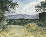 Virginia Woods III Art Print