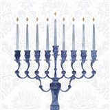 Sophisticated Hanukkah I Art Print