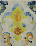 Bohemian Ikat II Art Print