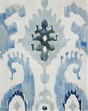 Sapphire Ikat V Art Print