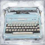 Vintage Typewriter III Art Print