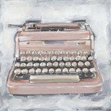Vintage Typewriter IV Art Print