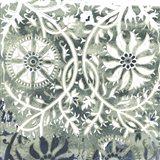 Flower Stone Tile VII Art Print