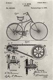 Patent--Bicycle Art Print