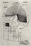 Patent--Slinky Art Print