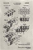 Patent--Lego Art Print