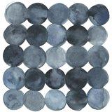 Blue Grey Density II Art Print