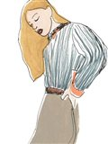 Fashion Vignette IV Art Print