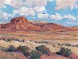 Desert Heat II Art Print