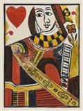 Vintage Cards I Art Print