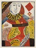 Vintage Cards IV Art Print