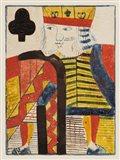 Vintage Cards V Art Print