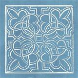 Garden Schematic I Art Print
