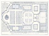 Kitchen Garden Plan I Art Print