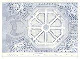 Kitchen Garden Plan II Art Print