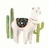 Sweet Alpaca III Art Print