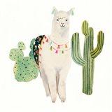 Sweet Alpaca IV Art Print